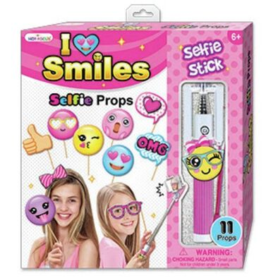 Hot Focus Selfie Stick With Emoji Props