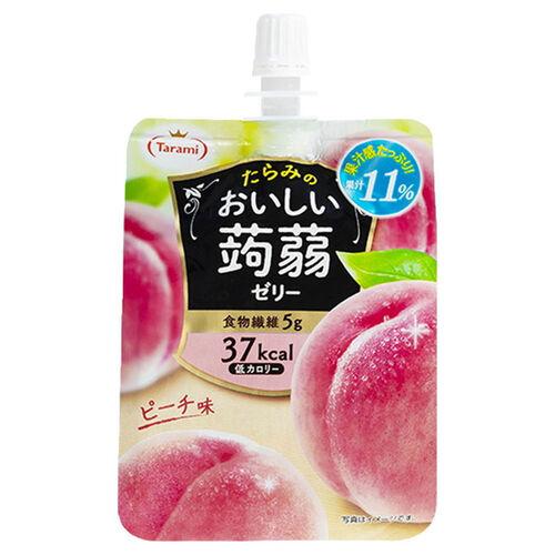 Tarami 低卡路里桃味蒟蒻啫喱飲品 150G