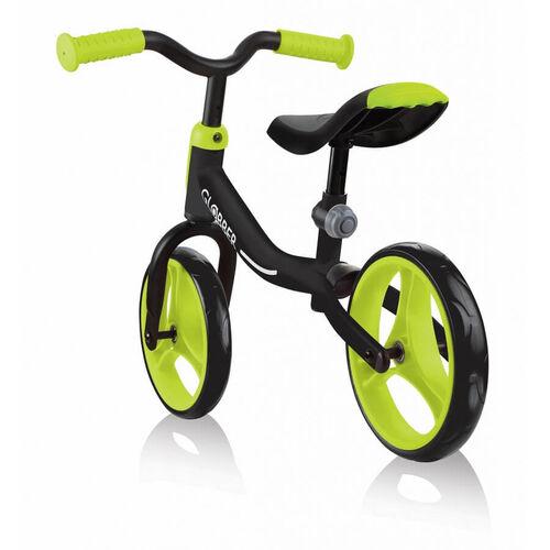 Globber高樂寶go Bike 幼兒平衡車 (黑/綠色)