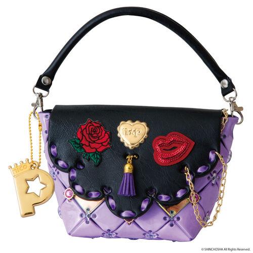 Pacherie 時尚巧拼包 - 高貴紫色包包套裝