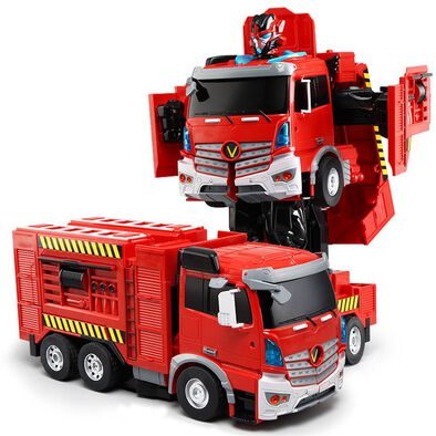 Konsept Rc Transforming Fire Truck (With Voice Control)