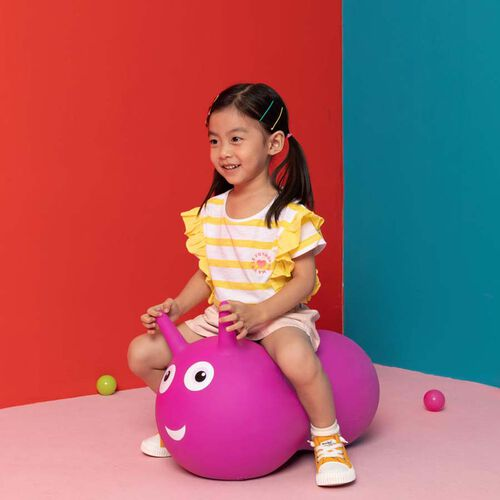 Micro Mobility 二合一彈彈球滑行車 - 粉紅色