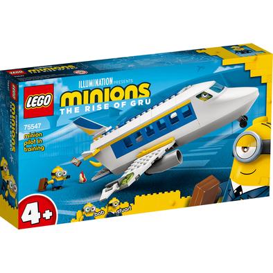 LEGO樂高 迷你兵團系列Minion Pilot in Training 75547