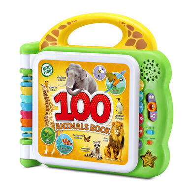 Leapfrog 100 Animals Book (Bilingual: Uk+Fr