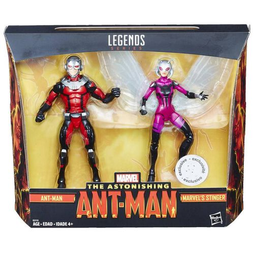 Marvel漫威 6寸人偶蟻俠2件裝