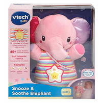 Vtech Snooze & Soothe Elephant - Assorted