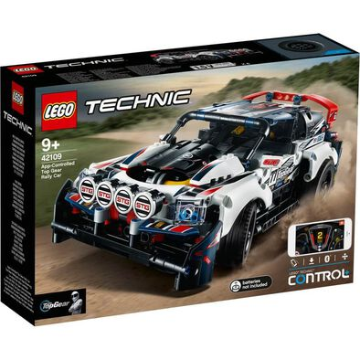 LEGO樂高機械組系列 LEGO Technic App-Controlled Top Gear Rally Car 42109