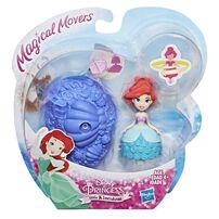 Disney Princess迪士尼公主q版小公主旋轉公仔 隨機發貨