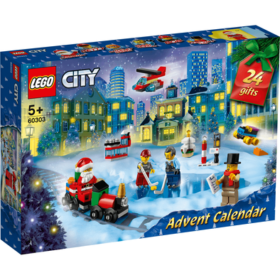LEGO樂高城市系列 聖誕倒數日曆 60303