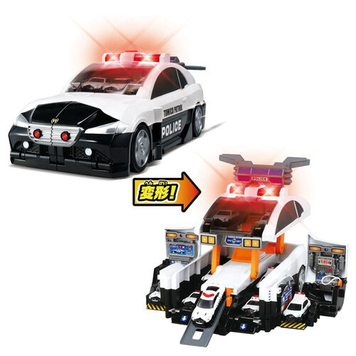 Tomica Transform Police Car Station
