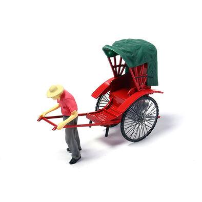 Tiny微影人力車 連人像