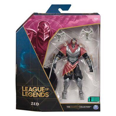 """League of Legends 6"""" Figure Zed"""
