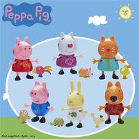 Peppa Pig粉紅豬小妹 Pal & Pets Set - 隨機發貨