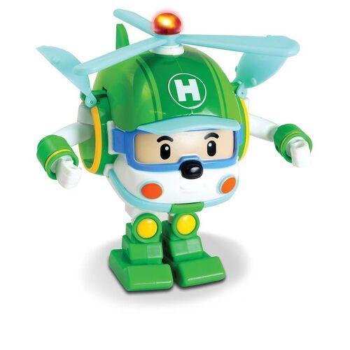 Robocar Poli救援小英雄波力 LED變形海利