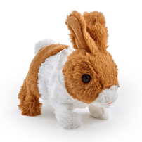 Pitter Patter Pets 電動小兔朋友 啡白色