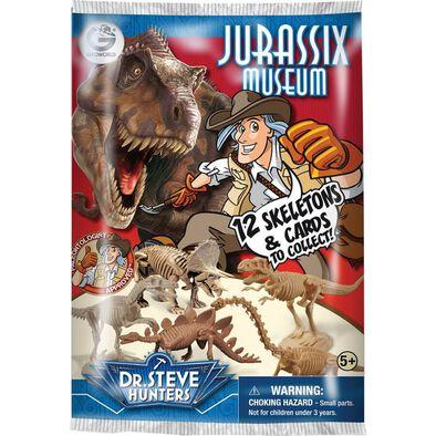 Uncle Milton米爾頓叔叔 Dr.Steve Hunters侏羅紀博物館 - 隨機發貨