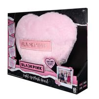 Blackpink 閃燈心型攬枕