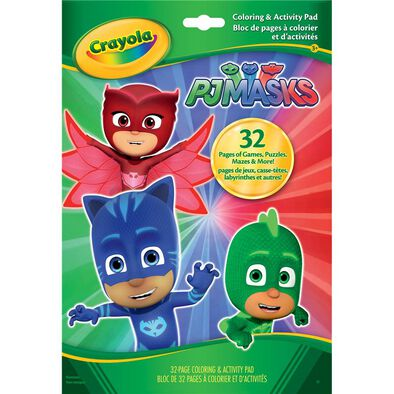 Crayola Pj Mask Activity Book