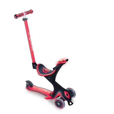 Globber高樂寶 Go•Up Evo Comfort Play 多功能三輪滑板車 (紅色)