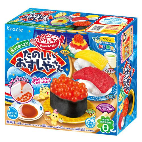Tanoshii Kracie Diy 知育果子系列–食玩diy壽司套餐