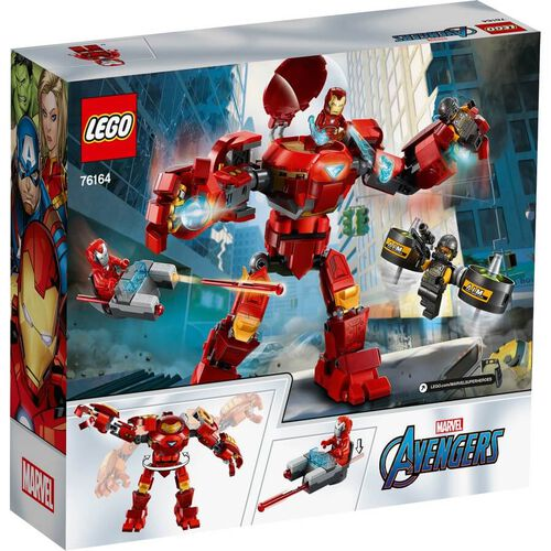 LEGO Marvel Iron Man Hulkbuster Versus A.I.M. Agent 76164