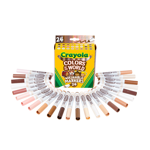 Crayola繪兒樂 世界色彩水筆24支裝