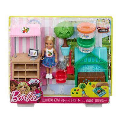 Barbie芭比小凱莉花園遊戲組