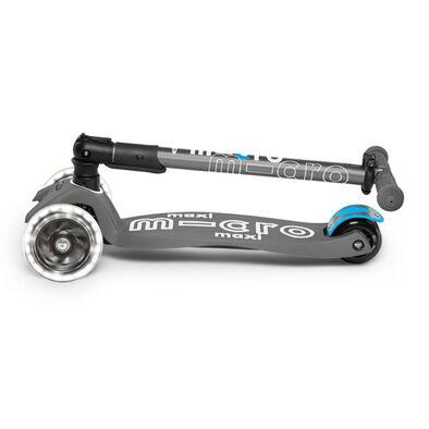 Micro Mobility 【升級閃轆版】中童 易摺滑板車 火山灰色