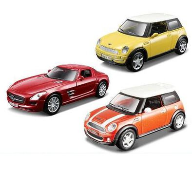 Maisto 4.5 Inches Pull Back Diecast Car - Assorted