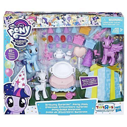 My Little Pony小馬寶莉生日驚喜party Pk
