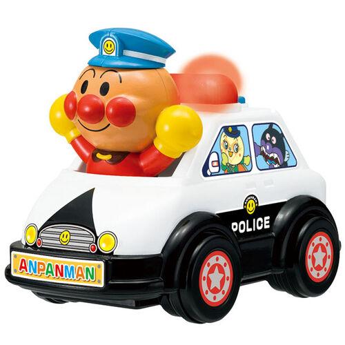 Anpanman麵包超人發聲玩具車-警車