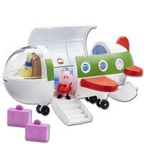 Peppa Pig粉紅豬小妹 旅行飛機