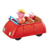 Peppa Pig粉紅豬小妹的豪華家庭車(紅色)