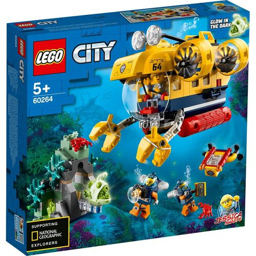 LEGO 海底勘探潛艇 60264