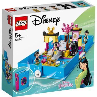 LEGO樂高廸士尼系列 花木蘭樂高故事書 43174