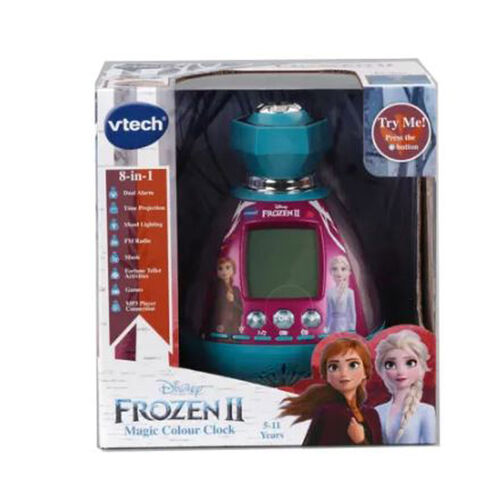 Vtech偉易達 Disney Frozen迪士尼魔雪奇緣時鐘
