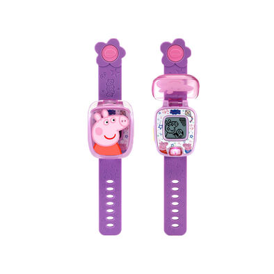 Vtech Peppa Pig Learning  Watch  - Assorted