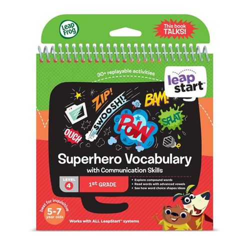 Leapfrog跳跳蛙 Superhero Vocabulary