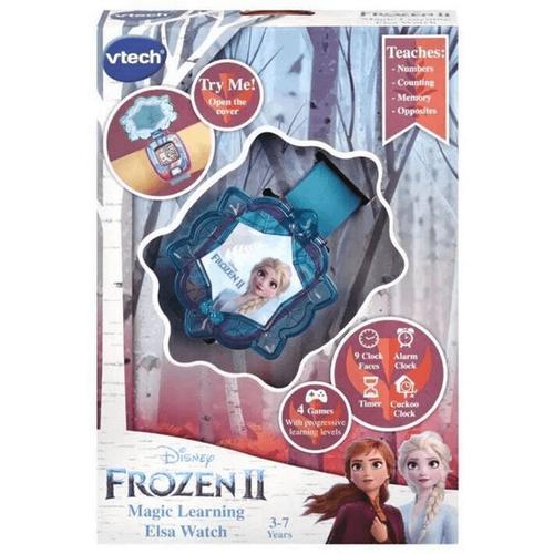 Vtech偉易達 Disney Frozen迪士尼魔雪奇緣2 手錶 - 隨機發貨