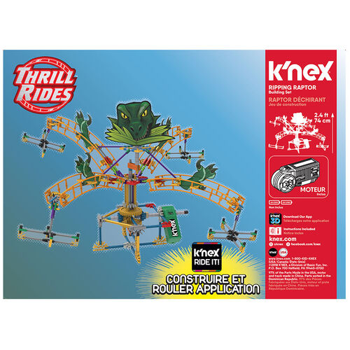 K'Nex科樂思 速龍拼砌套裝