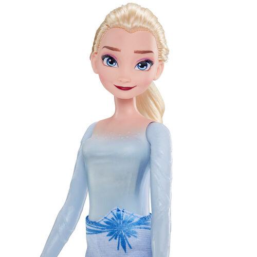 Disney Frozen迪士尼魔雪奇緣 2 時裝玩偶閃耀愛莎