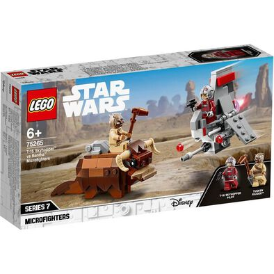 LEGO樂高星球大戰系列 LEGO Star Wars T-16 Skyhopper Vs Bantha Microfighters 75265
