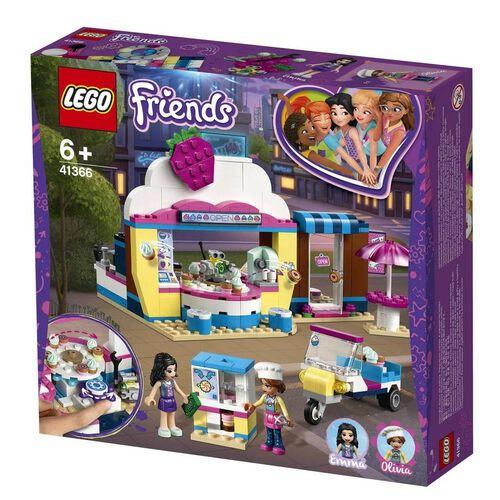 LEGO樂高好朋友系列olivia的迴轉紙杯蛋糕店 41366