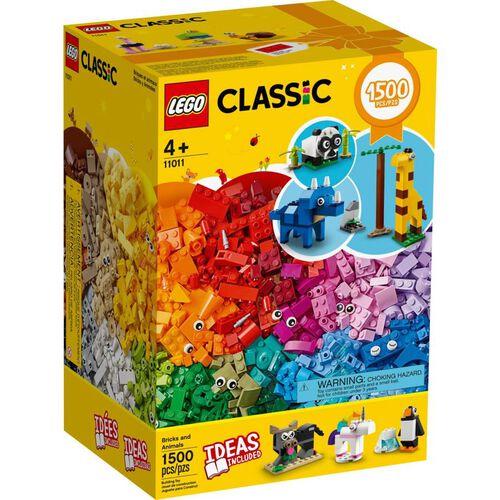 LEGO樂高經典系列創意動物拼砌盒 11011