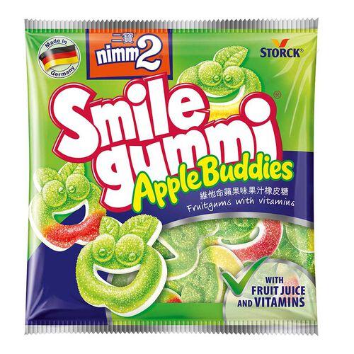 Nimm2二寶smile Gummi維他命蘋果味果汁橡皮糖袋裝