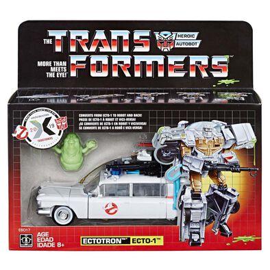 Transformers變形金剛Generations 系列  X 捉鬼敢死隊 Ecto-1 模型連漫畫