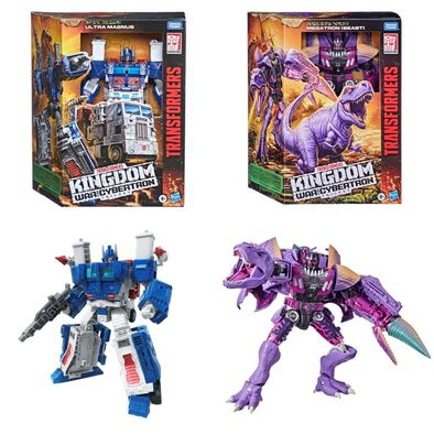 Transformers變形金剛Generations 系列 斯比頓之戰王國領袖者系列 WFC-K28 甲威龍動作玩偶 - 隨機發貨
