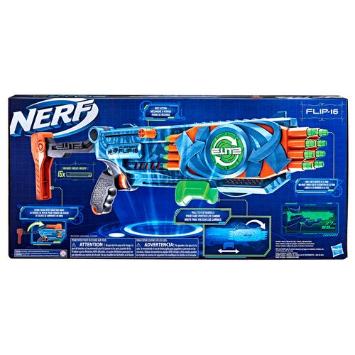 NERF熱火精英2.0系列翻動射擊 Flip-16 發射器