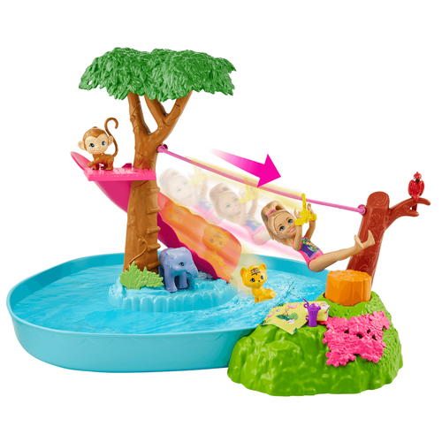 Barbie芭比 小凱莉與可愛小動物森林探險組合