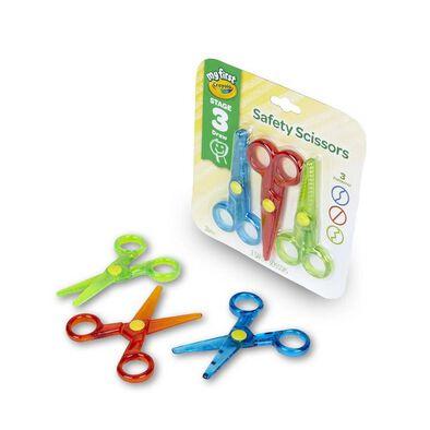 Crayola繪兒樂安全剪刀3件裝